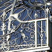 Wrought Iron Structures - Capesthorne Hall Garden